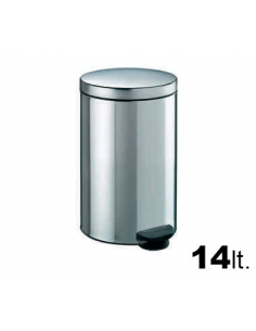Cubo Pedal Acero Inox - DNX - 14 Lt.