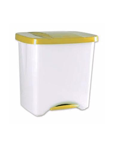 Cubo Pedal Ecologico - DNX - 50 lt amarillo
